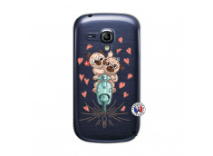 Coque Samsung Galaxy S3 Mini Puppies Love
