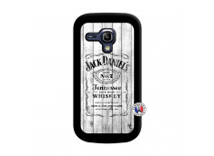 Coque Samsung Galaxy S3 Mini White Old Jack Noir