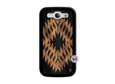 Coque Samsung Galaxy S3 Aztec One Motiv Noir