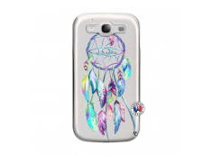 Coque Samsung Galaxy S3 Blue Painted Dreamcatcher