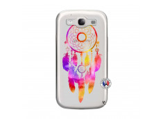 Coque Samsung Galaxy S3 Dreamcatcher Rainbow Feathers