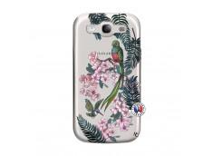 Coque Samsung Galaxy S3 Flower Birds