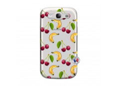 Coque Samsung Galaxy S3 Hey Cherry, j'ai la Banane