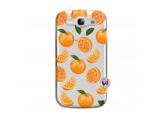 Coque Samsung Galaxy S3 Orange Gina