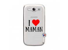 Coque Samsung Galaxy S3 I Love Maman