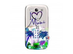 Coque Samsung Galaxy S3 I Love Miami