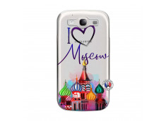 Coque Samsung Galaxy S3 I Love Moscow