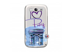 Coque Samsung Galaxy S3 I Love Paris Arc Triomphe