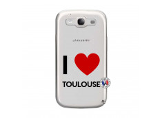 Coque Samsung Galaxy S3 I Love Toulouse