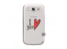 Coque Samsung Galaxy S3 I Love You