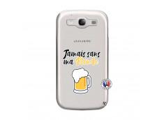 Coque Samsung Galaxy S3 Jamais Sans Ma Blonde