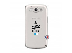 Coque Samsung Galaxy S3 Je Crains Degun