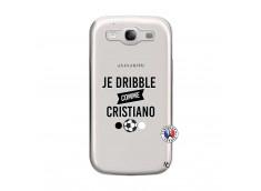 Coque Samsung Galaxy S3 Je Dribble Comme Cristiano