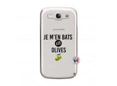 Coque Samsung Galaxy S3 Je M En Bas Les Olives