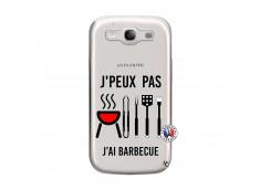 Coque Samsung Galaxy S3 Je Peux Pas J Ai Barbecue