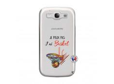 Coque Samsung Galaxy S3 Je Peux Pas J Ai Basket