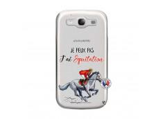 Coque Samsung Galaxy S3 Je Peux Pas J Ai Equitation