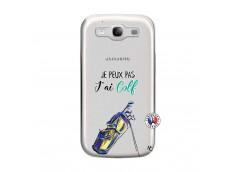 Coque Samsung Galaxy S3 Je Peux Pas J Ai Golf