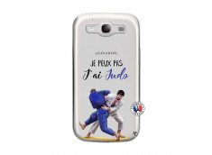 Coque Samsung Galaxy S3 Je peux pas j'ai Judo