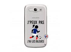 Coque Samsung Galaxy S3 Je Peux Pas J Ai Les Bleues Maillot