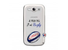 Coque Samsung Galaxy S3 Je Peux Pas J Ai Rugby