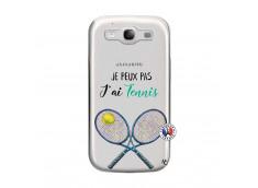 Coque Samsung Galaxy S3 Je Peux Pas J Ai Tennis