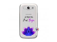 Coque Samsung Galaxy S3 Je Peux Pas J Ai Yoga