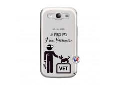Coque Samsung Galaxy S3 Je Peux Pas Je Suis Veterinaire
