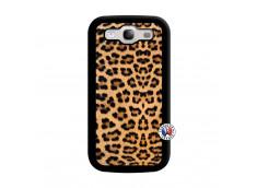 Coque Samsung Galaxy S3 Leopard Style Noir