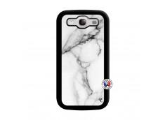Coque Samsung Galaxy S3 White Marble Noir