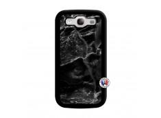 Coque Samsung Galaxy S3 Black Marble Noir