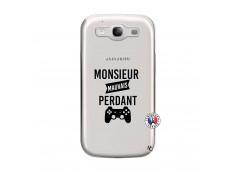 Coque Samsung Galaxy S3 Monsieur Mauvais Perdant
