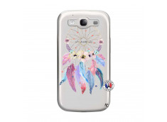 Coque Samsung Galaxy S3 Multicolor Watercolor Floral Dreamcatcher