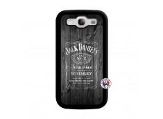Coque Samsung Galaxy S3 Old Jack Noir