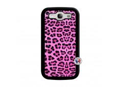Coque Samsung Galaxy S3 Pink Leopard Noir