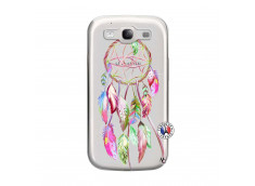 Coque Samsung Galaxy S3 Pink Painted Dreamcatcher