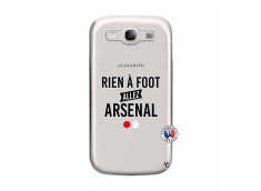 Coque Samsung Galaxy S3 Rien A Foot Allez Arsenal