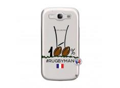 Coque Samsung Galaxy S3 100 % Rugbyman Entre les Poteaux