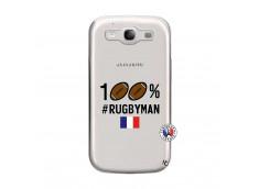 Coque Samsung Galaxy S3 100% Rugbyman