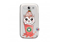 Coque Samsung Galaxy S3 Catpucino Ice Cream