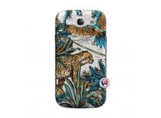 Coque Samsung Galaxy S3 Leopard Jungle