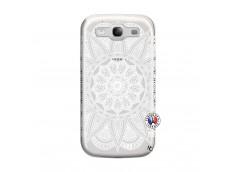 Coque Samsung Galaxy S3 White Mandala