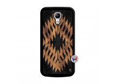 Coque Samsung Galaxy S4 Mini Aztec One Motiv Noir