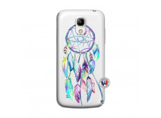 Coque Samsung Galaxy S4 Mini Blue Painted Dreamcatcher