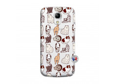 Coque Samsung Galaxy S4 Mini Cat Pattern
