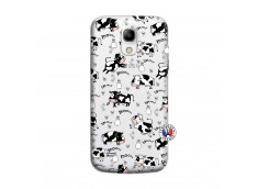 Coque Samsung Galaxy S4 Mini Cow Pattern