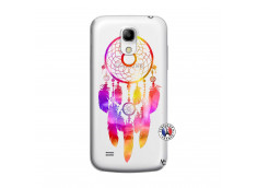 Coque Samsung Galaxy S4 Mini Dreamcatcher Rainbow Feathers