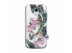 Coque Samsung Galaxy S4 Mini Flower Birds
