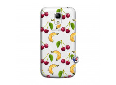 Coque Samsung Galaxy S4 Mini Hey Cherry, j'ai la Banane