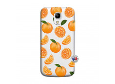 Coque Samsung Galaxy S4 Mini Orange Gina
